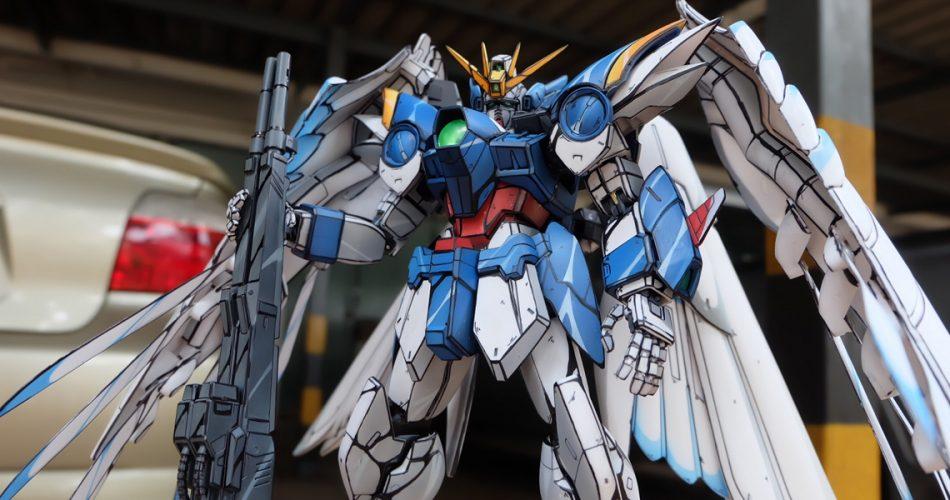 PG Gundam Wing Zero Custom